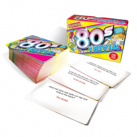 1980's Awesome Trivia Card Game